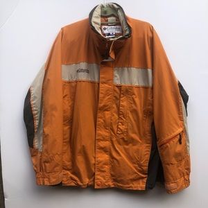 COLUMBIA Core Interchange Jacket Large Orange
